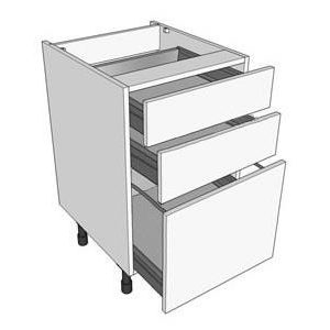500mm 3 Drawer Pack Unit Type A