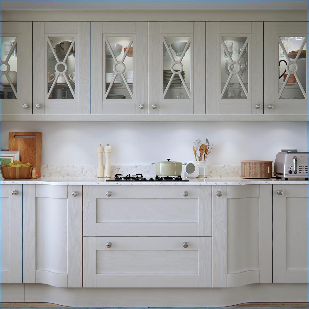 Pembroke Painted Wood Shaker Kitchen Range - Rigid Kitchens Online ...