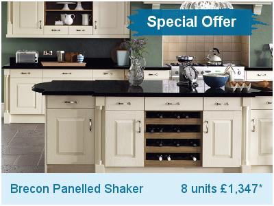 Brecon Panelled Kitchen