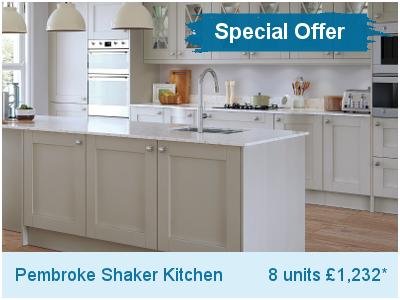 Pembroke Shaker kitchen