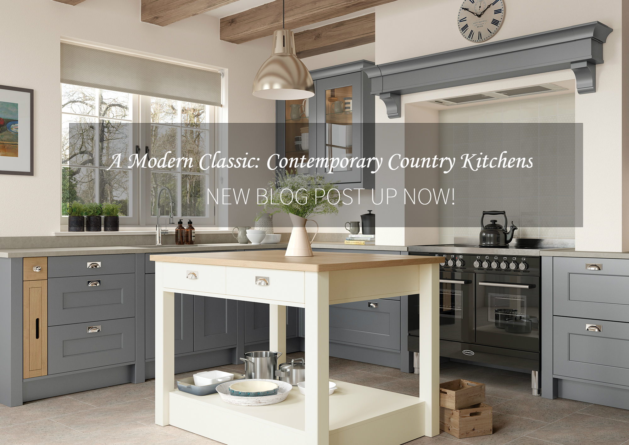 A Modern Classic Contemporary Country Kitchens Rigid Kitchens Online
